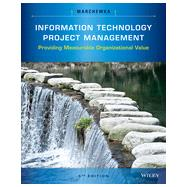 Information Technology Project Management by Marchewka, Jack T., 9781118911013