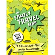 My Family Travel Map by Lonely Planet Kids, 9781760341015