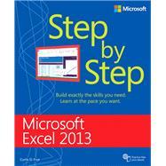 Microsoft Excel 2013 Step by Step by Frye, Curtis, 9780735681019