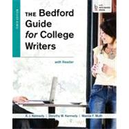 The Bedford Guide for College Writers with Reader by Kennedy, X. J.; Kennedy, Dorothy M.; Muth, Marcia F., 9781457631023
