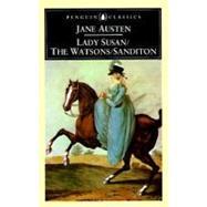 Lady Susan, The Watsons, Sanditon by Austen, Jane; Drabble, Margaret; Drabble, Margaret, 9780140431025