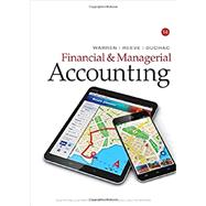 Bundle: Financial & Managerial Accounting, Loose-Leaf Version, 14th + LMS Integrated CengageNOWv2, 2 terms Printed Access Card, 14th Edition by Warren; Reeve; Duchac, 9781337591027