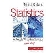 Statistics for People Who (Think They) Hate Statistics : Excel 2007 Edition by Neil J. Salkind, 9781412971027