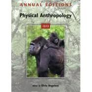 Annual Editions: Physical Anthropology 12/13 by Angeloni, Elvio, 9780078051029