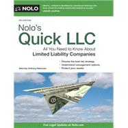 Nolo's Quick LLC by Mancuso, Anthony; Laurence, Beth, 9781413321029
