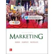 Marketing by Kerin, Roger; Hartley, Steven; Rudelius, William, 9780077861032