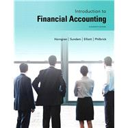 Introduction to Financial Accounting by Horngren, Charles T.; Sundem, Gary L.; Elliott, John A.; Philbrick, Donna, 9780133251036