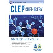 Clep Chemistry + Online Practice Tests by Reel, Kevin, 9780738611037