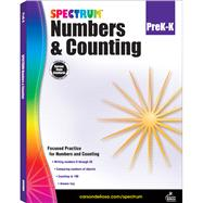 Numbers & Counting PreK-K by Carson-Dellosa Publishing LLC, 9781483831039