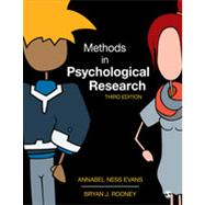 Methods in Psychological Research by Evans, Annabel Ness; Rooney, Bryan J., 9781452261041