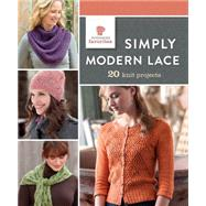 Simply Modern Lace: 20 Knit Projects by Interweave Press, 9781632501042