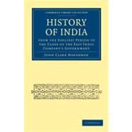 History of India by Marshman, John Clark, 9781108021043