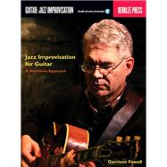 Jazz Improvisation for Guitar by Fewell, Garrison, 9780876391044