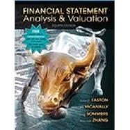 Financial Statement Analysis & Valuation, 4th Ed with Access Code by Peter D. Easton, 9781618531049