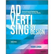 Advertising by Design by Landa, Robin, 9781118971055