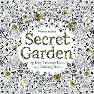 Secret Garden: An Inky Treasure Hunt and Coloring Book by Basford, Johanna, 9781780671062