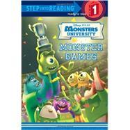 Monster Games (Disney/Pixar Monsters University) by LAGONEGRO, MELISSARH DISNEY, 9780736431064