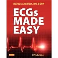 ECGs Made Easy (Book with Access Code and Pocket Reference, Package) by Aehlert, Barbara, 9780323101066