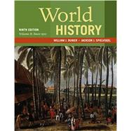 World History, Volume II: Since 1500 by Duiker, William J.; Spielvogel, Jackson J., 9781337401067