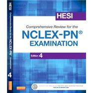 HESI Comprehensive Review for the NCLEX-PN Examination by HESI; Upchurch, Sandra, Ph.D., R.N.; Henry, Traci, R. N.; Pine, Rosemary, Ph.D., R.N.; Rickles, Amy, 9781455751068