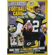 Beckett Football Card Price Guide by Beckett Media, 9781936681068