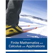 Finite Mathematics and Calculus with Applications Plus MyLab Math with Pearson eText -- Access Card Package by Lial, Margaret L.; Greenwell, Raymond N.; Ritchey, Nathan P., 9780133981070