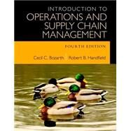 Introduction to Operations and Supply Chain Management Plus MyOMLab with Peason eText -- Access Card Package by Bozarth, Cecil B.; Handfield, Robert B., 9780134111070