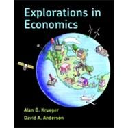 Explorations in Economics by Krueger, Alan; Anderson, David, 9780716701071