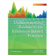 Understanding Research for Evidence-based Practice by Rebar, Cherie R.; Gersch, Carolyn J., 9781451191073