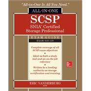 SCSP SNIA Certified Storage Professional All-in-One Exam Guide (Exam S10-110) by Vanderburg, Eric, 9781260011074