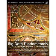 Big Data Fundamentals Concepts, Drivers & Techniques by Erl, Thomas; Khattak, Wajid; Buhler, Paul, 9780134291079