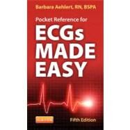 Pocket Reference for Ecgs Made Easy by Aehlert, Barbara J., 9780323101080