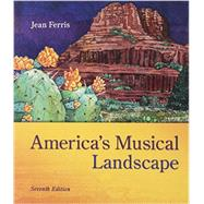America's Musical Landscape; with CD by Ferris, Jean, 9781259681080