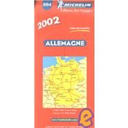 Michelin Germany by , 9782061001080