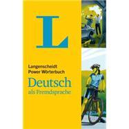 Langenscheidt Power Wörterbuch Deutsch Als Fremdsprache by Langenscheidt, 9783468131080