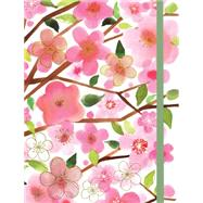 Cherry Blossoms Gilded Journal by Galison; Berg, Margaret, 9780735341081