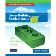 Green Building Fundamentals by Montoya, Mike, 9780135111086