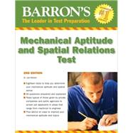Barron's Mechanical Aptitude and Spatial Relations Test by Wiesen, Joel, 9780764141089
