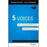 5 Voices by Kubicek, Jeremie; Cockram, Steve, 9781119111092