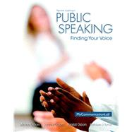 Public Speaking Finding Your Voice by Osborn, Michael; Osborn, Suzanne; Osborn, Randall; Turner, Kathleen J., 9780205931095
