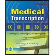 Medical Transcription w/CD, 3e by Ettinger, 9780763831097