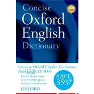 Concise Oxford English Dictionary Book & CD-ROM Set by Oxford Dictionaries, 9780199601103