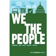 We the People: An Introduction to American Politics (Ninth Essentials Edition) by GINSBERG,BENJAMIN, 9780393921106