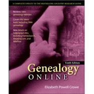 Genealogy Online, Tenth Edition by Crowe, Elizabeth, 9780071841108