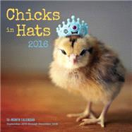 Chicks in Hats 2016 Calendar by Persons, Julie, 9781631061110