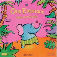 One Elephant Went Out to Play by , 9781846431111