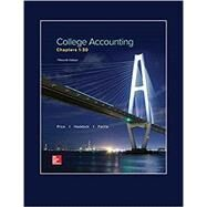 LOOSE LEAF COLLEGE ACCOUNTING CHAPTERS 1-30 by Price, John; Haddock, M. David; Farina, Michael, 9781259631115