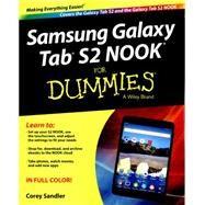 Samsung Galaxy Tab S2 Nook for Dummies by Sandler, Corey, 9781119171119