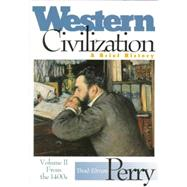 Western Civilization by PERRY, 9780395811122