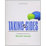 Taking Sides: Clashing Views on Social Issues by Finsterbusch, Kurt, 9781259161124